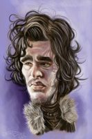 JON SNOW by JaumeCullell