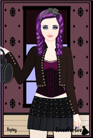 OC_Goth Style by FantineAquane