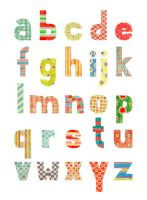 Wall Alphabet Letters Stickers