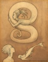 Serpents and Sealife by mirroreyesserval