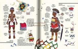 Zulu spread 3 by Majnouna