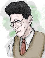 Ghostbusters - Egon Spengler by T-RexJones