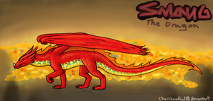 Smaug the Dragon by Chari-Artist