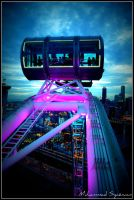 singapore flyer capsule. by syazwan10