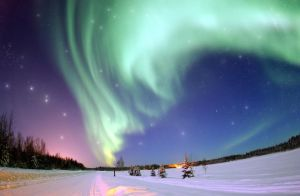Northern Lights stock by MataHari22