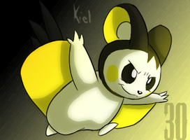 Emolga-30 Days by fossilizer