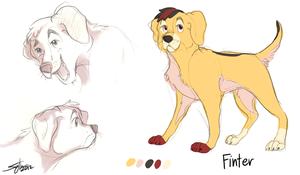 Finter [Design for My-Lonely-Wolf] by robins-egg-crayon