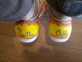 Back Pretty Odd Shoes by GAClive