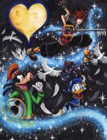Kingdom Hearts by KaeMcSpadden