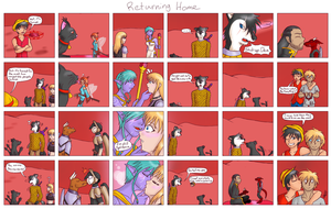 23 - Returning Home (4koma Special) by Animeartist569
