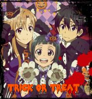Trick or Treat :D by Serah-Lightning