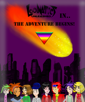 My comic front cover :D by loonaticsSpygirl