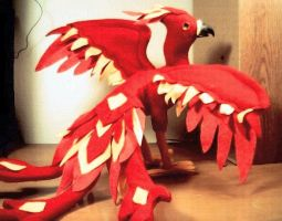 Plush Phoenix-Rear by sandrabong