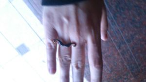 anillo de mostacho! by Die-Rose