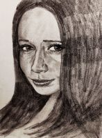 Female Face Study 2 by CpointSpoint