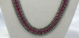 6 in 1 Pink and Silver by chain-theory