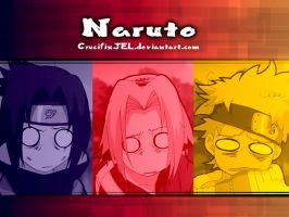Naruto: Freaked Out Three by CrucifixJEL