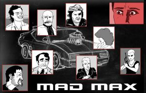 Mad Max Pinup by creepstown