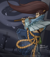 League of Legends: Yasuo by StevieWunderz
