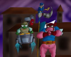Sly Cooper Gang by charrio