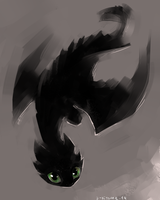 HTTYD - Toothless by D-Kitsune