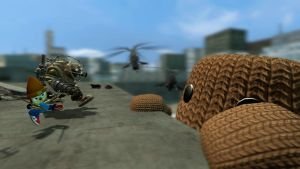 Sackboy at large by Memoski