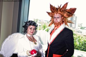 ConnectiCon 2014 - Diantha and Lysandre by VideoGameStupid
