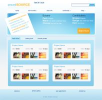 Crowd Source Web Template 2 by kaosm