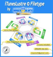iTunes Lustre Filetype by Mayosoft