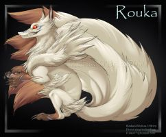 Fox Demon Rouka - Sit Up by frisket17