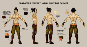 Nocturne - Character Modelsheet by richie-on-a-mission