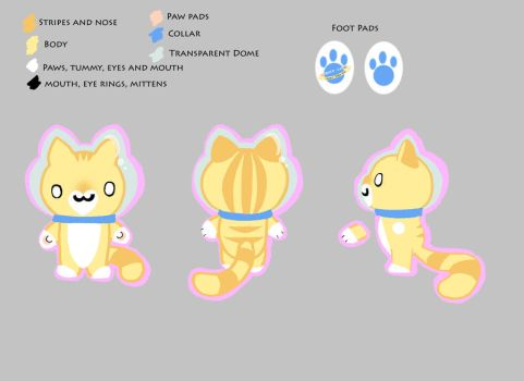 Space Cat Toy Design by TheBoneYard