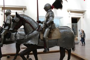 mounted knight close up 4 by oldsoulmasquer