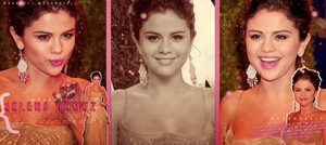 Selena Gomez Full Background! by teamdiall