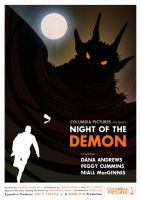 Night of the Demon Poster alt by McJade