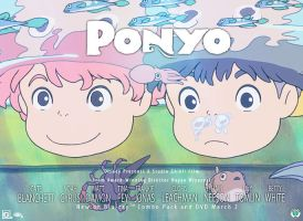 ponyo contest entry. by msirae
