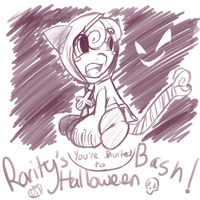RARITY'S HALLOWEEN BASH by PonySocialExperiment