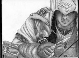 Assassin's Creed III: Connor by xEpicDorito678