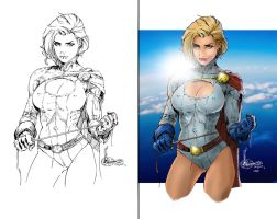 Power Girl by scroll142