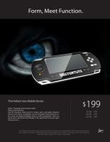 my ad work, PSP by rashaderooth