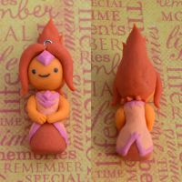 clay flame princess! by hellocuteness