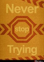 Never stop Trying by BionVision
