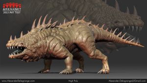 ArenaNet Art Test High Poly by LexTripper
