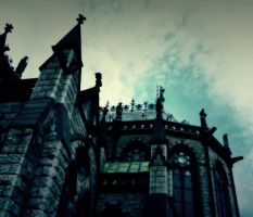 Cobh, Cathedral-Towers by 1darkstar1