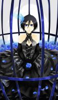 Rukia's Caged Heart by UltraPunkNERD