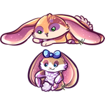 Bunnies by MooiLeven
