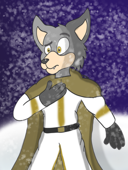 Paladin Wolf by Count-Toon