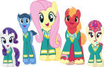The Ponytones by Jeatz-Axl