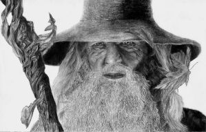 Gandalf by ElbarethIB
