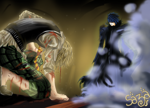 Code Breaker: Toki vs Ogami by Sazawen